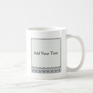 Art Deco Skyline Classic White Coffee Mug