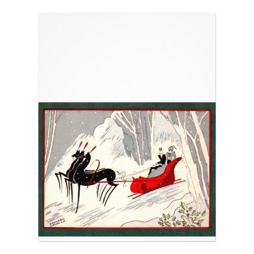 Art Deco Sleigh Ride Full Color Flyer