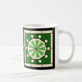 Art Deco Snow Flake Coffee Mug