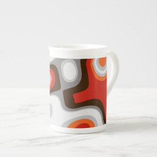 Art Deco Bone China Mug