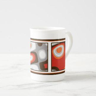 Art Deco Porcelain Mug