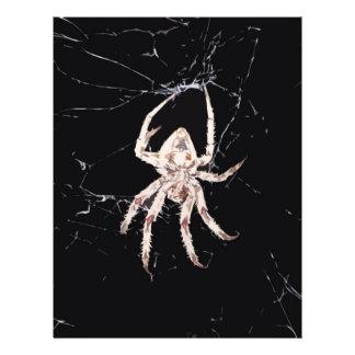 art deco spider flyers