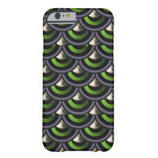 Art Deco Spiked Dragon Skin Fish Scales Barely There iPhone 6 Case