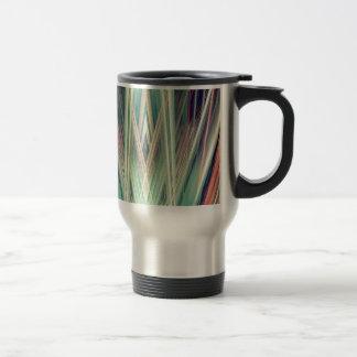Art Deco spotlights pattern Travel Mug