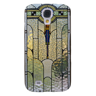 Art Deco Stained Glass Cover for your Galaxy Galaxy S4 Case