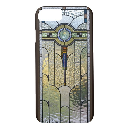 Art Deco Stained Glass Window iPhone 7 case