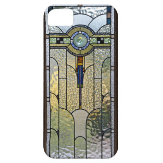 Art Deco Stained Glass Window iPhone Cover Barely There iPhone 5 Case