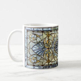 Art Deco Stained Glass Window Mug