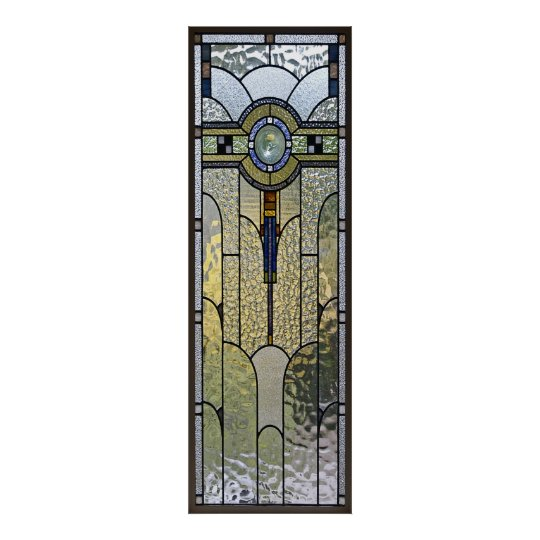 art deco stained glass window poster FROM 8.99