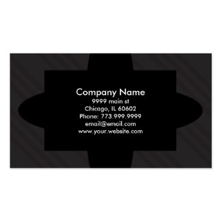 Art Deco style Black Diagonal Rules Aztec Shapes Pack Of Standard Business Cards