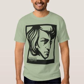 Art Deco style Chopin Tee Shirt