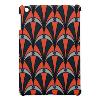 Art deco style pattern iPad mini covers