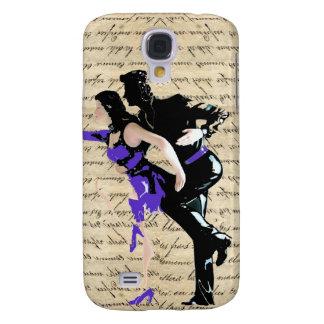Art Deco style vintage dancers Galaxy S4 Case