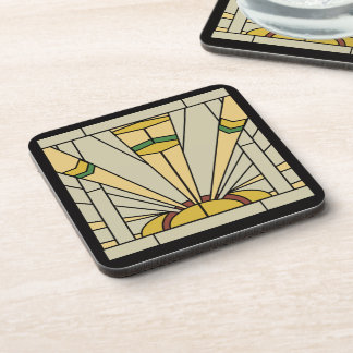Art Deco Sunshine Coaster