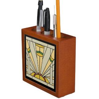 Art Deco Sunshine Desk Organiser
