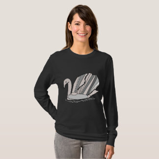 Art Deco Swan T-Shirt