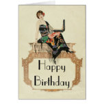 Art Deco Template Greeting Card
