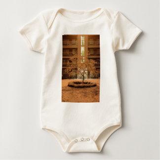 Art Deco Tree Baby Bodysuit