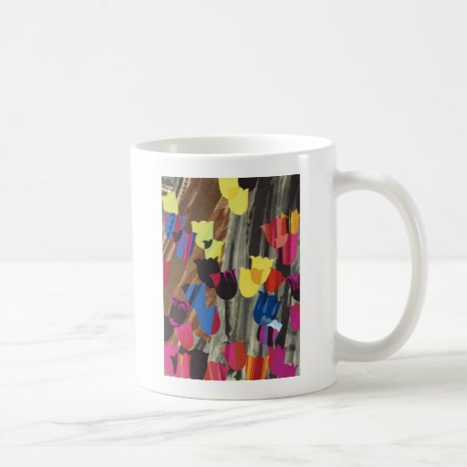 art deco tulips mugs