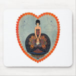 Art Deco Valentine Mouse Pad