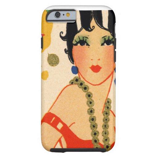Art Deco Vamp, 1920s Flapper iPhone 6 Case