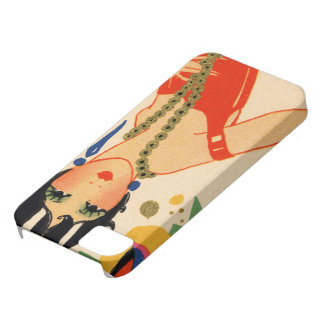 Art Deco Vamp, 1920s Flapper iPhone 5 Cover