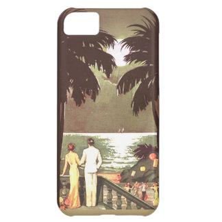 Art Deco Vintage Miami Beach designer Case For iPhone 5C