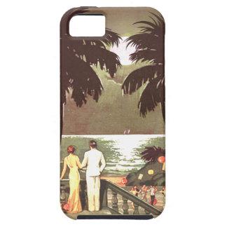 Art Deco Vintage Miami Beach designer iPhone 5 Cases