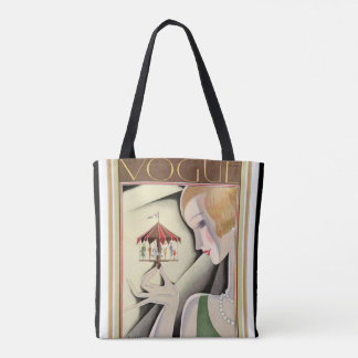 Art  Deco Vogue Tote
