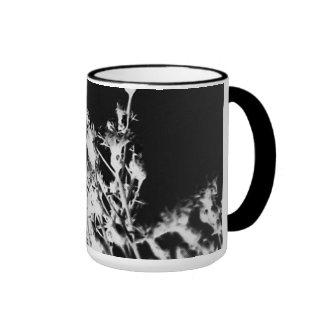Art Deco Wildflower Ringer Mug
