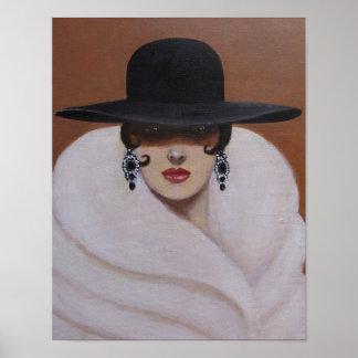 ART DECO WOMAN POSTER