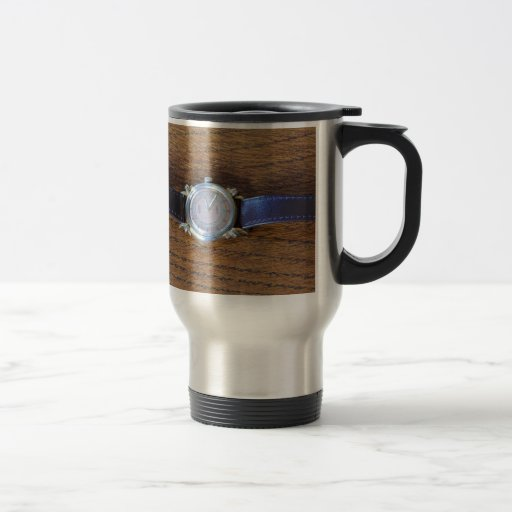 Art Deco Wristwatch Coffee Mugs