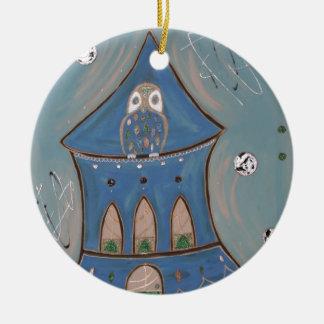 Art Round Ceramic Decoration