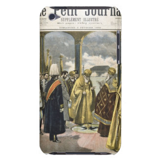 Art depicting blessing of the Neva River in iPod Case-Mate Case