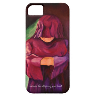 Art Design cover In silence i stand iPhone 5 Covers