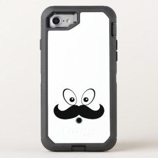 art design pattern black OtterBox defender iPhone 8/7 case