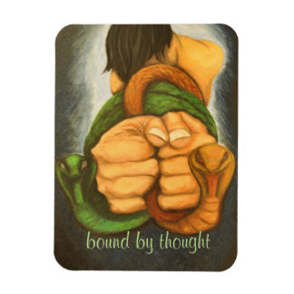 art designer magnet bound by thought