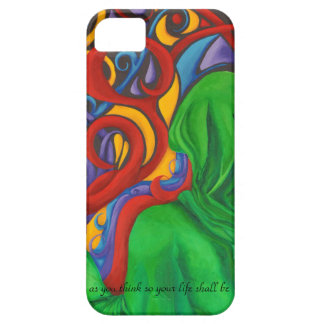 Art designer phone cover thoughts create case for the iPhone 5