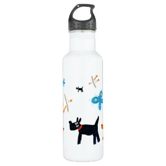 Art Drink Bottle: John Dyer Seagulls and Dogs 710 Ml Water Bottle