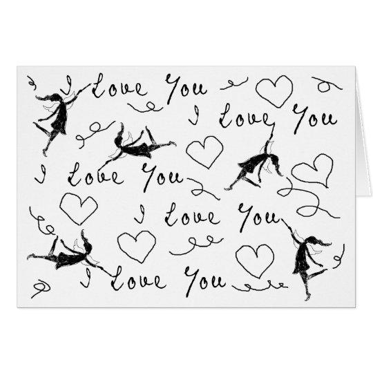 Art Fairies: I Love You Valentine's Day Card