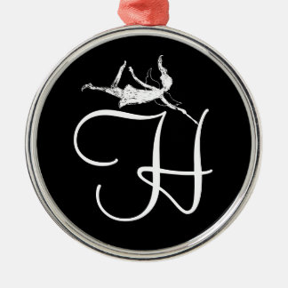 Art Fairy Inital: H Christmas Ornament