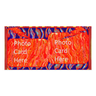 Art Flames PhotoCard Customized Photo Card