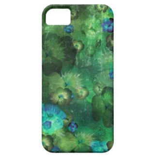 Art floral grunge background pattern iPhone 5 case