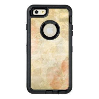 art floral grunge background pattern OtterBox defender iPhone case
