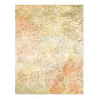 art floral grunge background pattern postcard