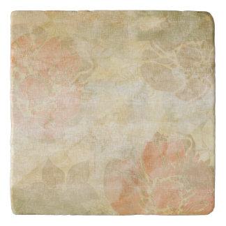 art floral grunge background pattern trivet