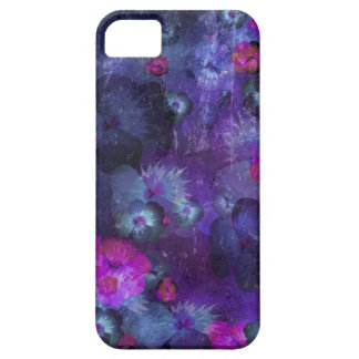 Art floral grunge pattern barely there iPhone 5 case