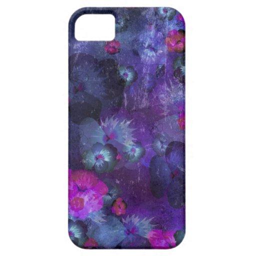 Art floral grunge pattern iPhone 5 case