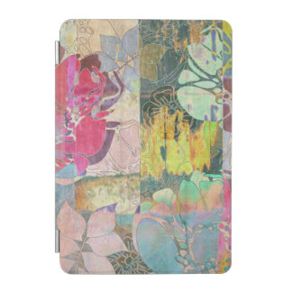 Art floral grunge pattern iPad mini cover