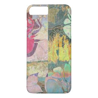Art floral grunge pattern iPhone 8 plus/7 plus case